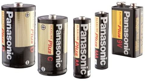 PANASONIC ALKALINE 2-D BATTERIES