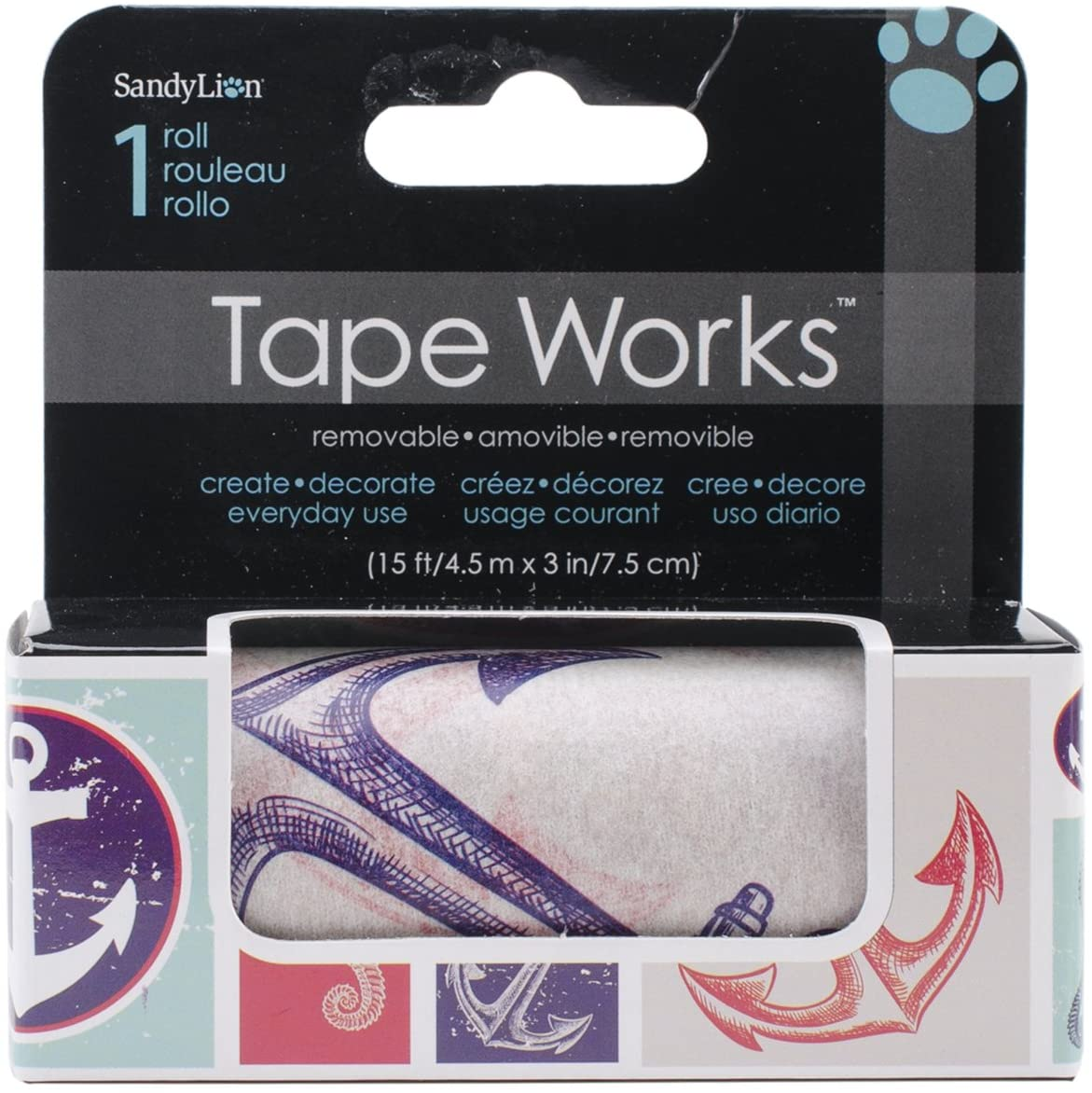 Tape Works Sea Life Accent Tape
