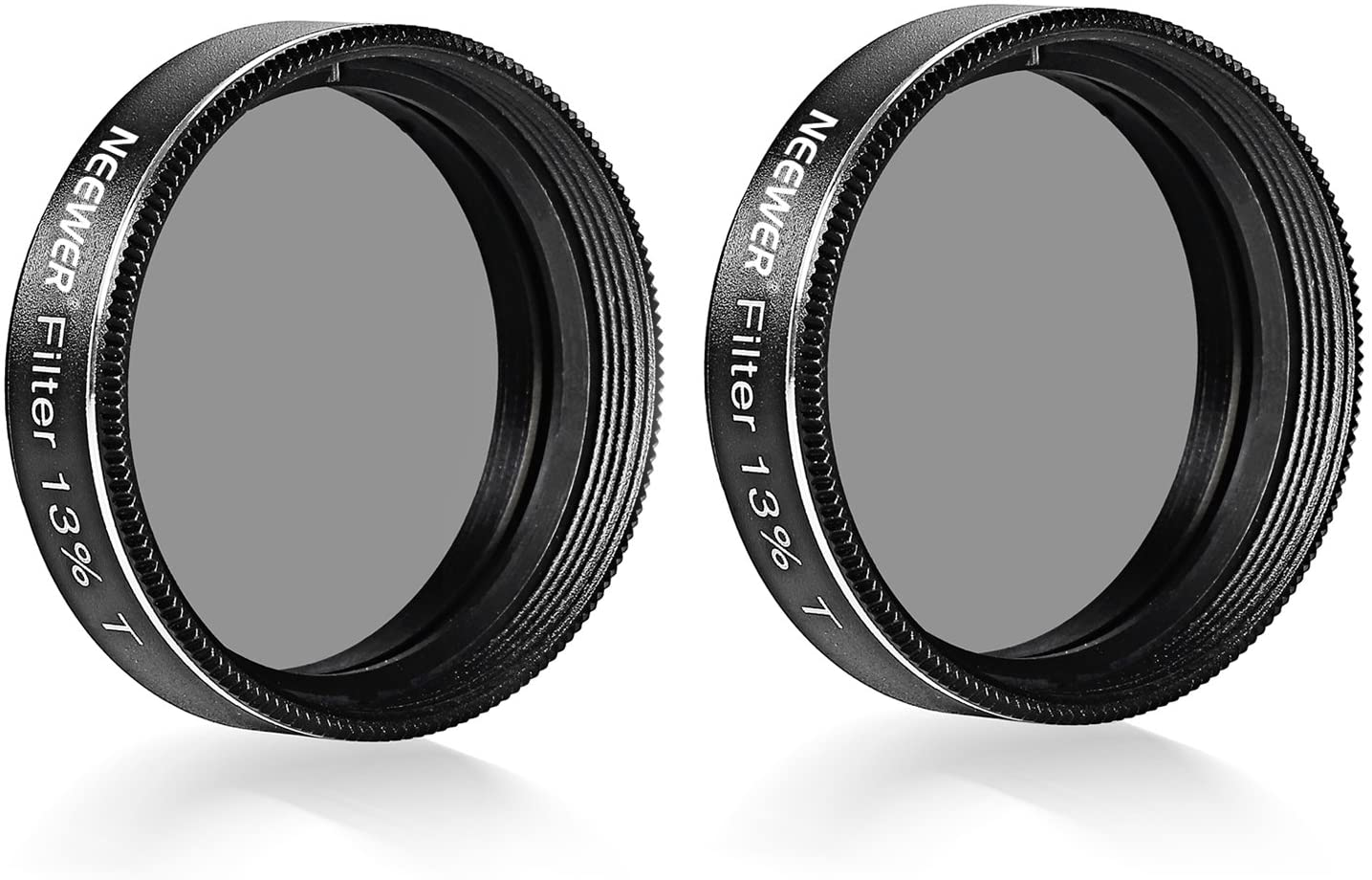 Neewer 2-Pack 1.25 inch Neutral-Density 13 Percent Transmission Telescope Eyepiece Moon Filters