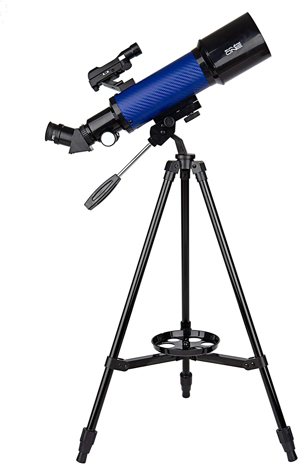 Explore One CF400SP Astronomy and Terrestrial Telescope with 20x to 67x Magnification - 70mm Aperture - 400mm Focal Length - Smartphone Adapter - Easy-to-Use Beginner Telescope for Kids and Adults