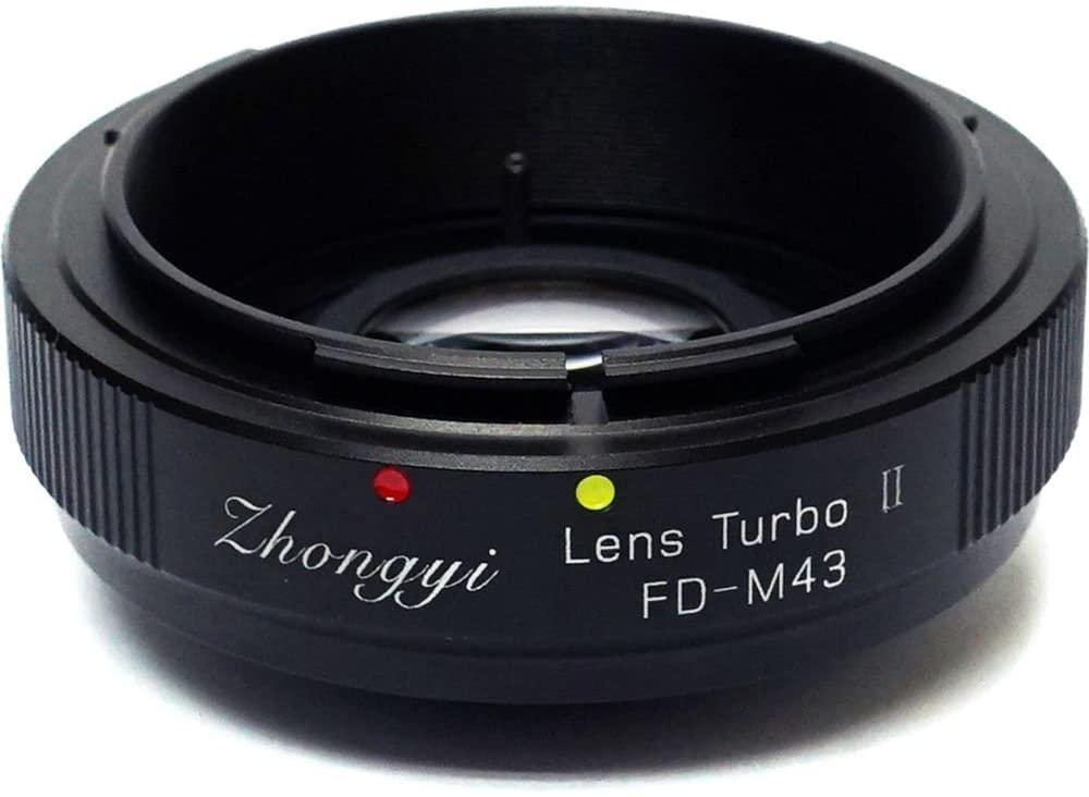 ZHONG YI OPTICS Mitakon Zhongyi Canon FD Mount Lens to Micro 4/3 Camera Turbo Mark II Adapter