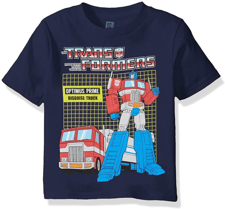 Transformers Boys' Graphic Short Sleeve T-Shirt
