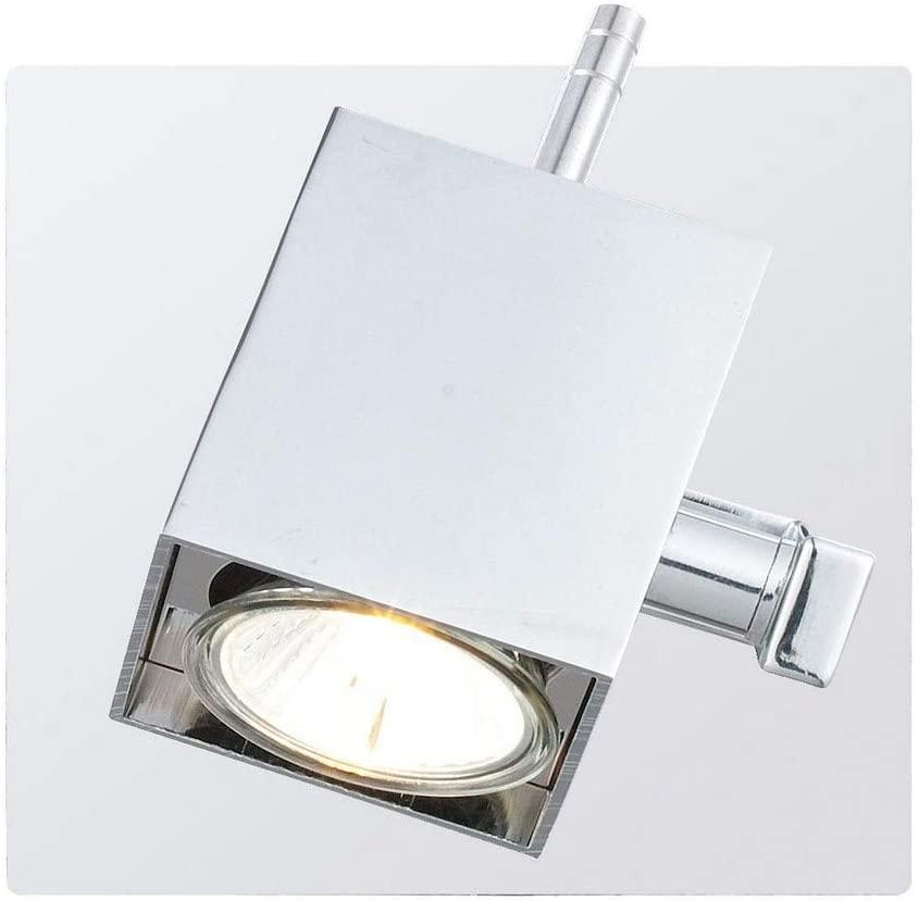 EGLO 90522A One Light Track Wall Sconce, Chrome