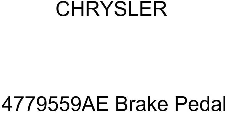 Chrysler Genuine 4779559AE Brake Pedal