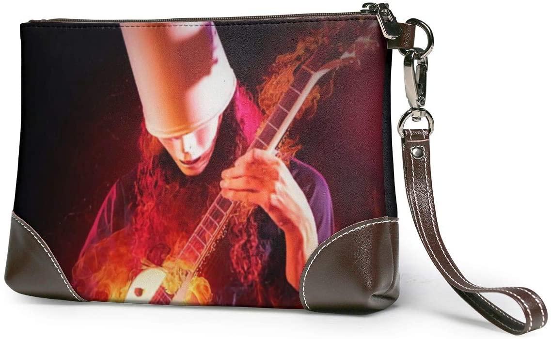 Buckethead Soft Lambskin Leather Wristlet Clutch Bag for Women Designer Large Wallets