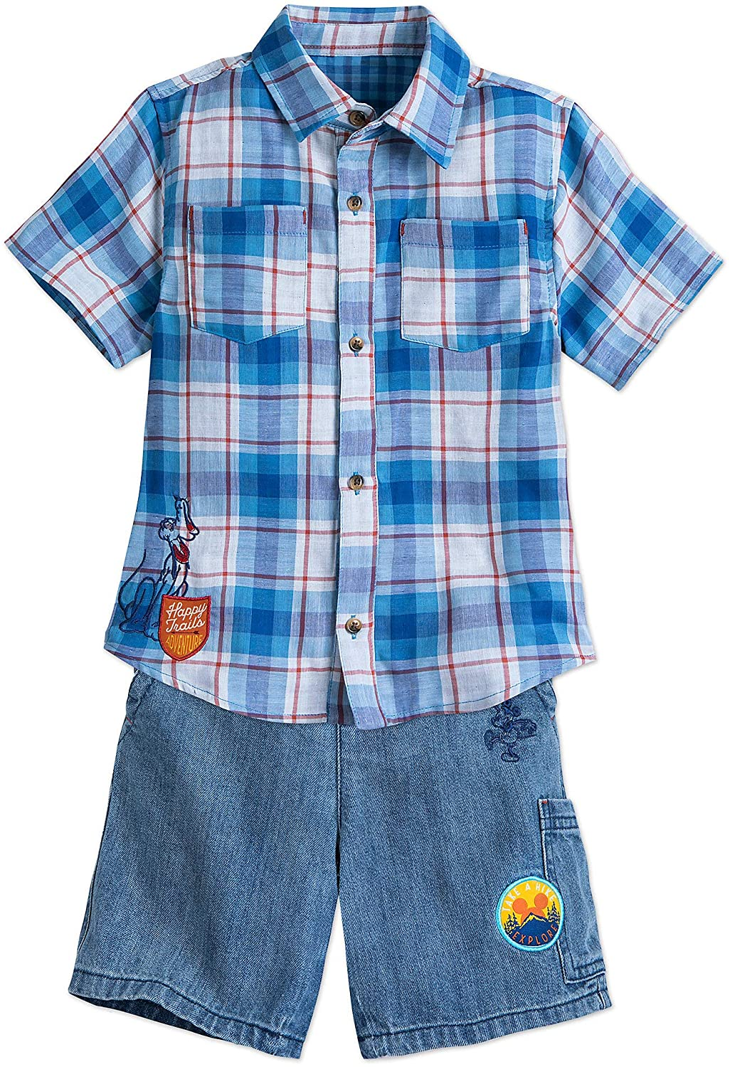 Disney Mickey Mouse Short Set for Boys Blue
