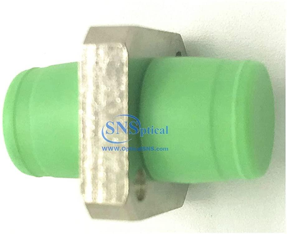 SNS Fiber Optic FC to FC/APC Simplex Single Mode Adapter 1-Pack
