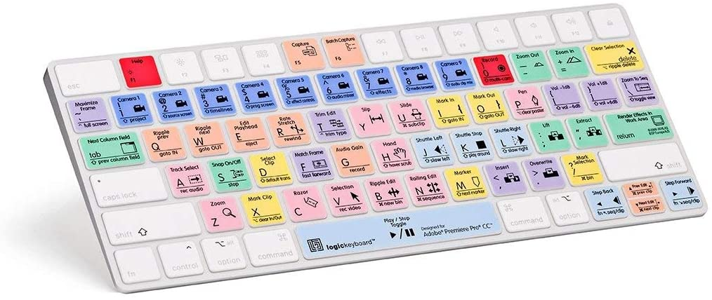 LogicKeyboard Skin Cover Compatible with Adobe Premiere Pro CC Keyboard - LS-PPROCC-MAGC-US (Renewed)