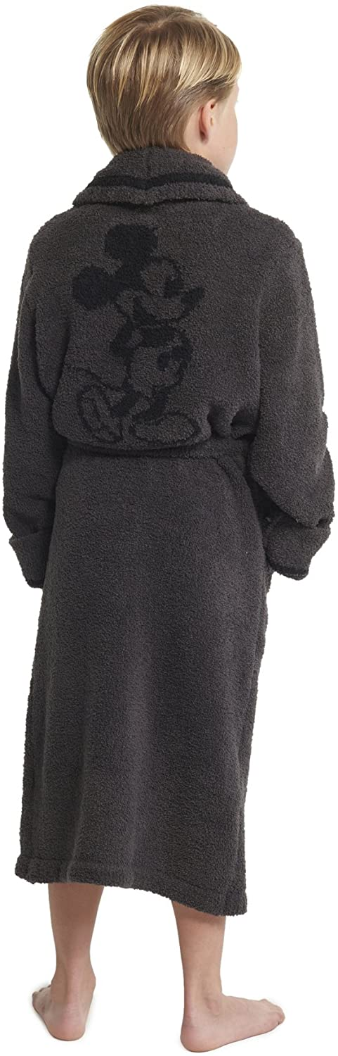 Barefoot Dreams CozyChic Unisex Youth Classic Mickey & Minnie Mouse Robe Disney Series