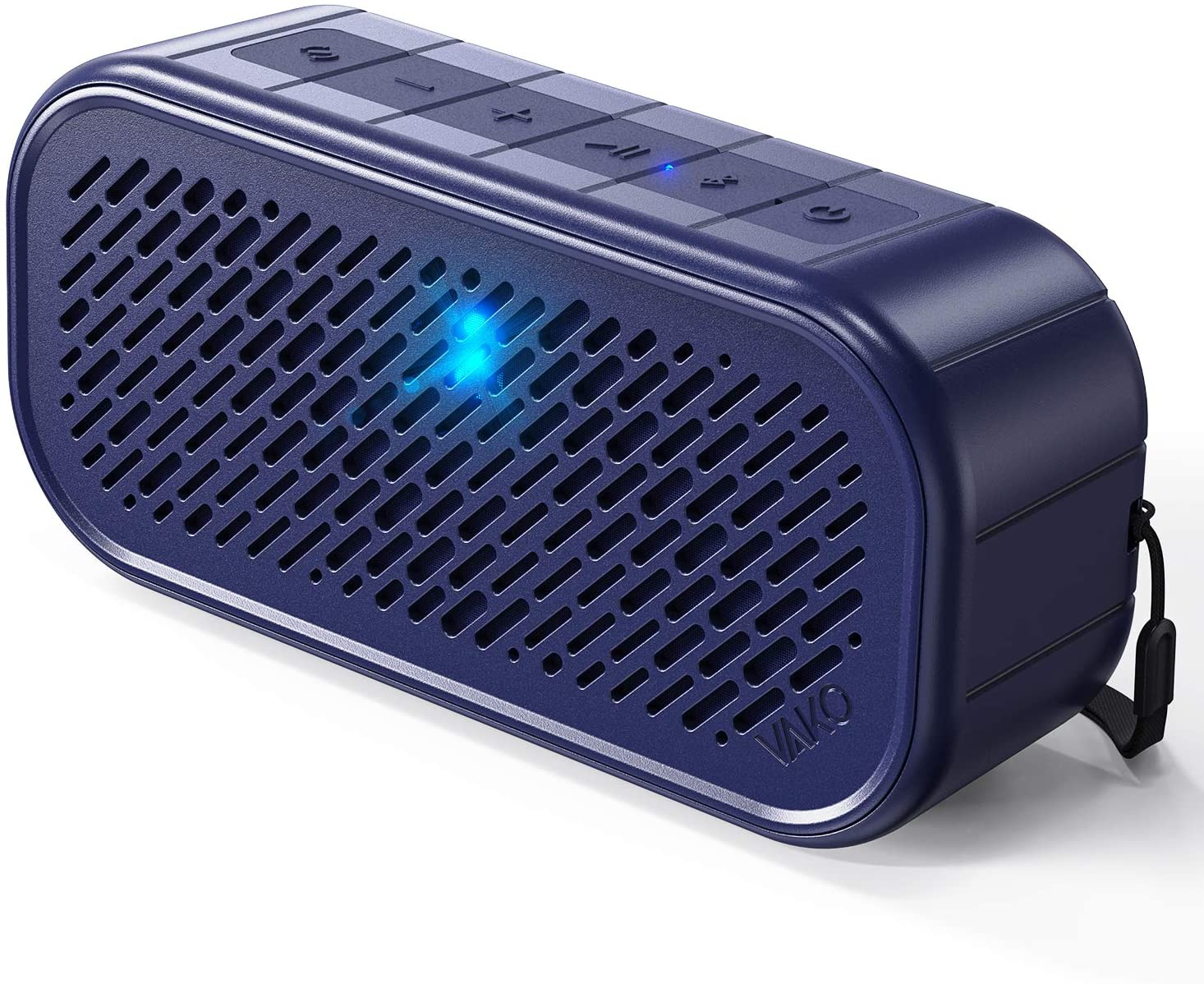 Wireless Bluetooth Speaker, VaKo RockSound Portable Small Speakers IPX5 Waterproof for Shower, Outdoor, Travel, Interested Sound Effects Made by Tapping or Shaking, for Party, Camping, Bluetooth 5.0