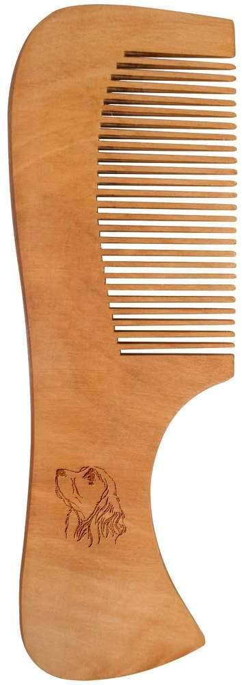 Azeeda 'Cocker Spaniel' Wooden Comb (HA00016310)