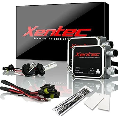 XENTEC 55W Standard Size Ballasts x 2 bundle with 2 x Xenon Bulb H7 6000K (Ultra White) offroad