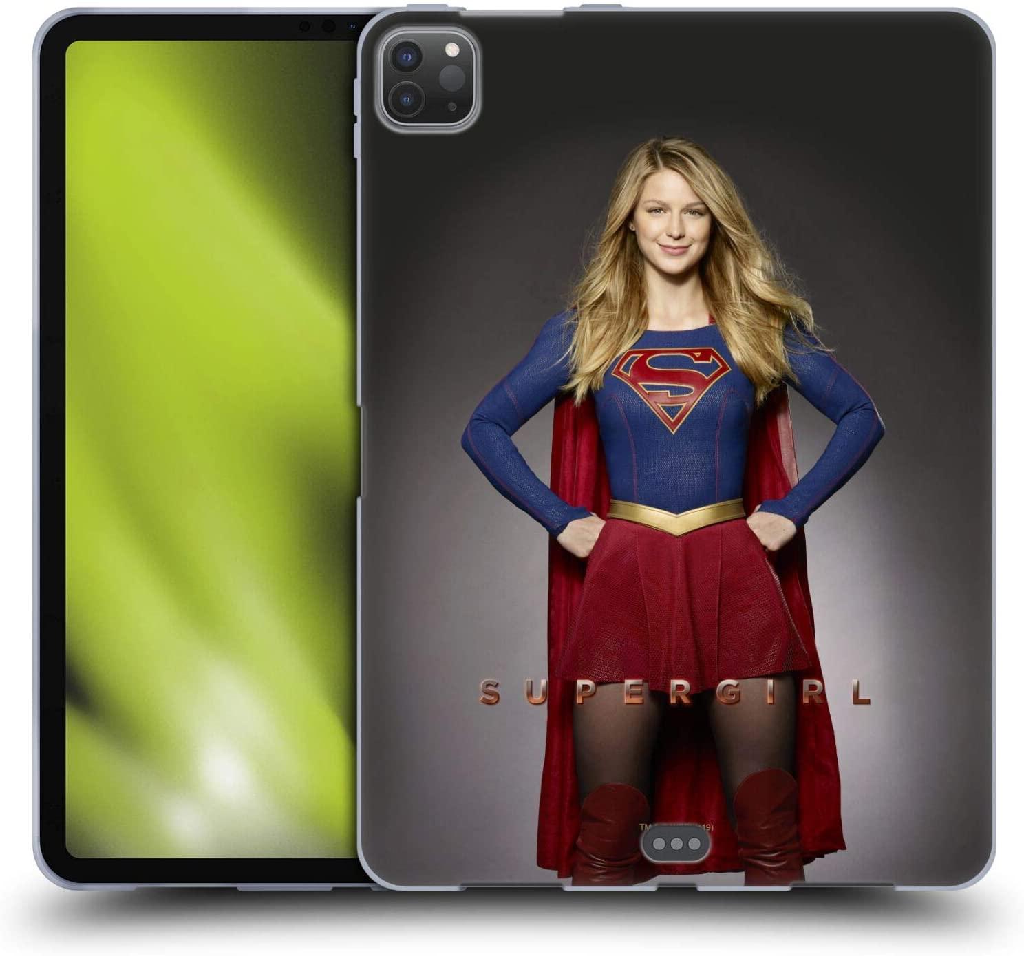 Head Case Designs Officially Licensed Supergirl TV Series Kara Zor-El Key Art Soft Gel Case Compatible with Apple iPad Pro 11 (2020)