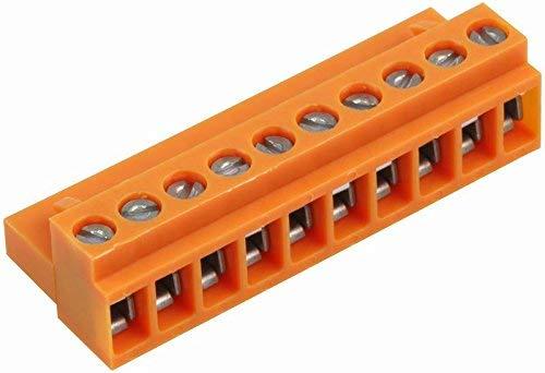 WEIDMULLER 1716400000 TERMINAL BLOCK PLUGGABLE 10POS, 22-12AWG (1 piece)