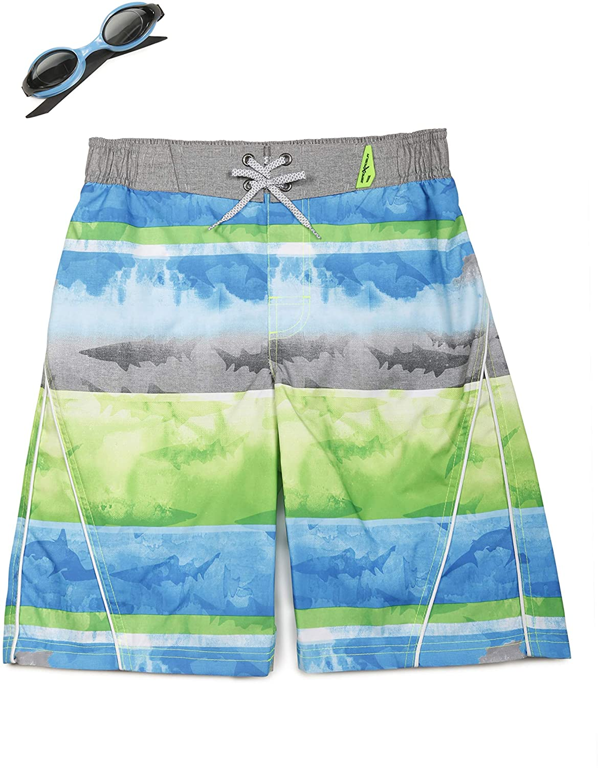 ZeroXposur Boys Washed Ashore Swim Trunk Shorts