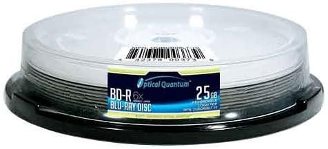OpticalQuantum6X 25GBBD-RLogo Top - 10 pcs