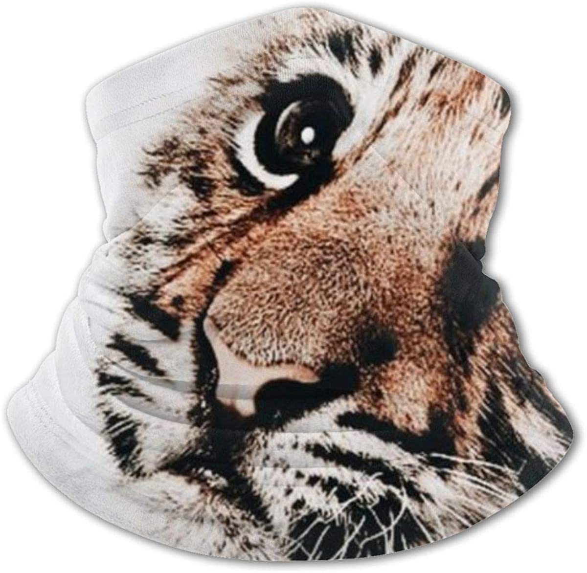 Baby Tiger Headwear For Girls And Boys, Head Wrap, Neck Gaiter, Headband, Tenn Fishing Mask, Magic Scarf, Tube Mask, Face Bandana Mask For Camping Running Cycling