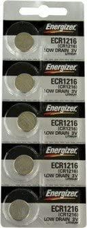 Energizer CR1216 3V Lithium Batteries (200 Batteries)