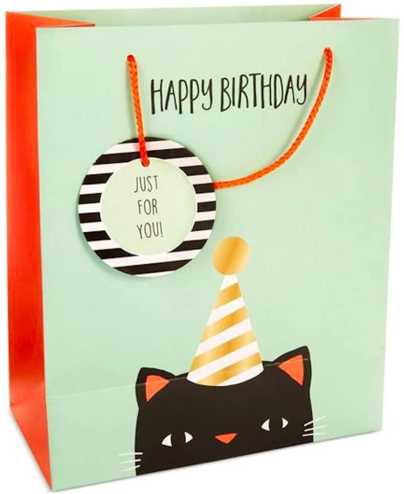 Celebrate Shop Cat Gift Bag