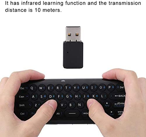 Calvas Mini 2.4G Wireless USB Air Mouse Remote Control Keyboard Mouse For TV PC Remote Control