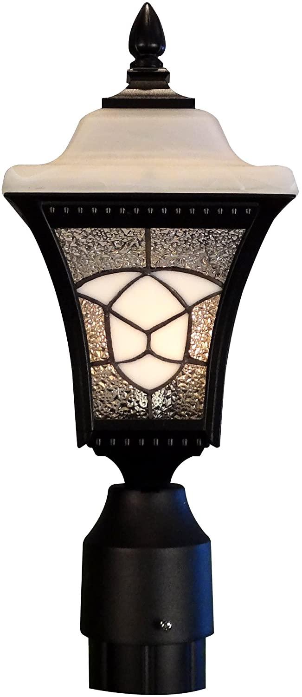 Special Lite Products Abington F-4980-BLK Estate Post Mount Light, Black