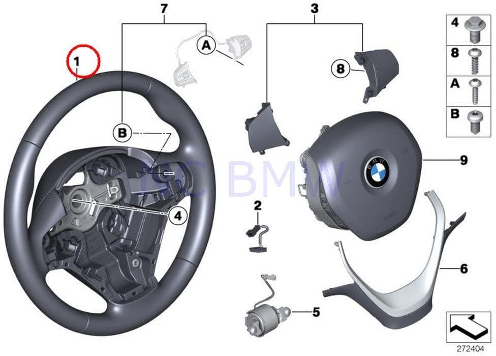 BMW Genuine Leather Sport Steering Wheel