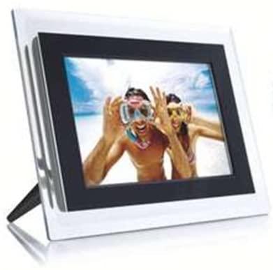 Philips 7-Inch Digital Photo Frame (Clear & Black)