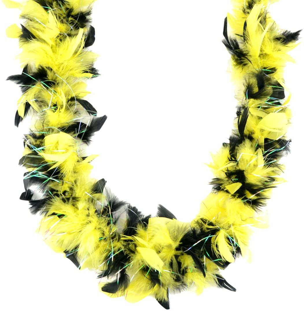 Touch of Nature 36109 Black & Yellow Chandelle Boa 25G