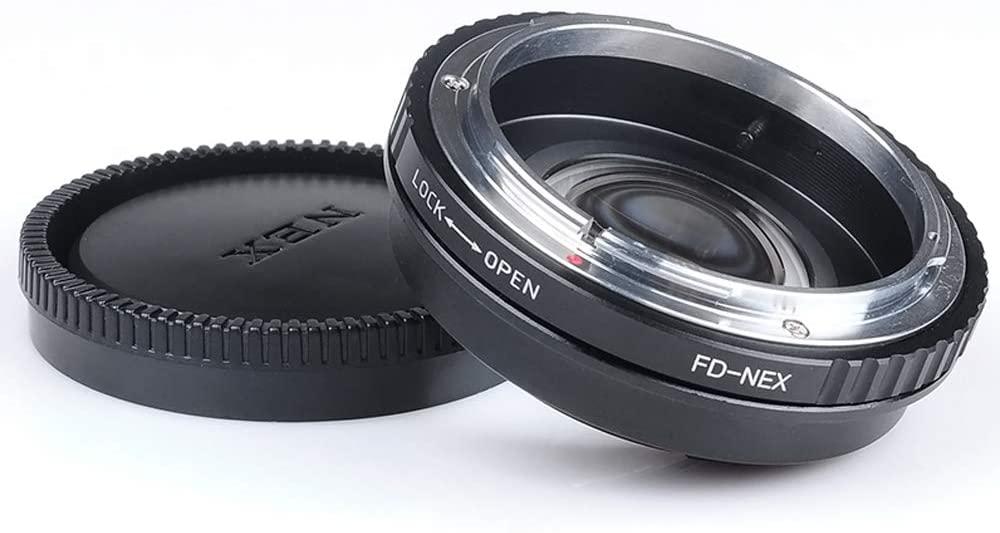 Yunchenghe FD-NEX Lens Adapter for Canon FD FL Lens for Sony NEX E-Mount Camera