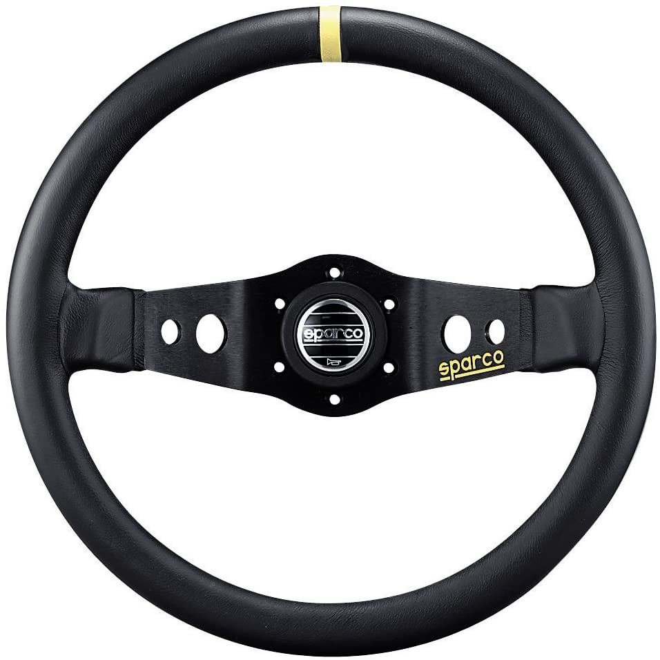 Sparco 015R215CLN Leather Steering Wheel
