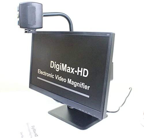 DigiMax Desktop Video Magnifier for Reading Designed for Visual Impairment and Independent Living