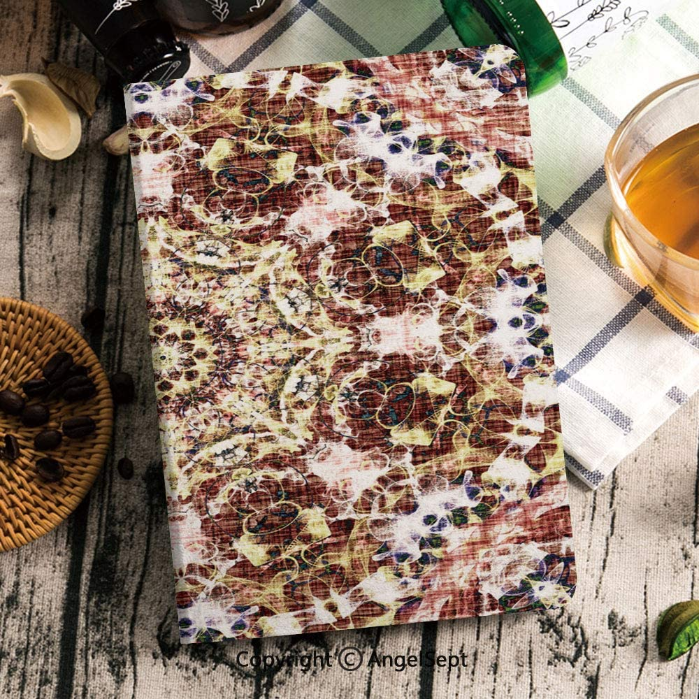 Customized iPad Mini 5 Case,Stand Protective Case Smart Cover with Multi-Angle Viewing for iPad Mini 5th Gen 2019,Oriental Pattern with Colorful