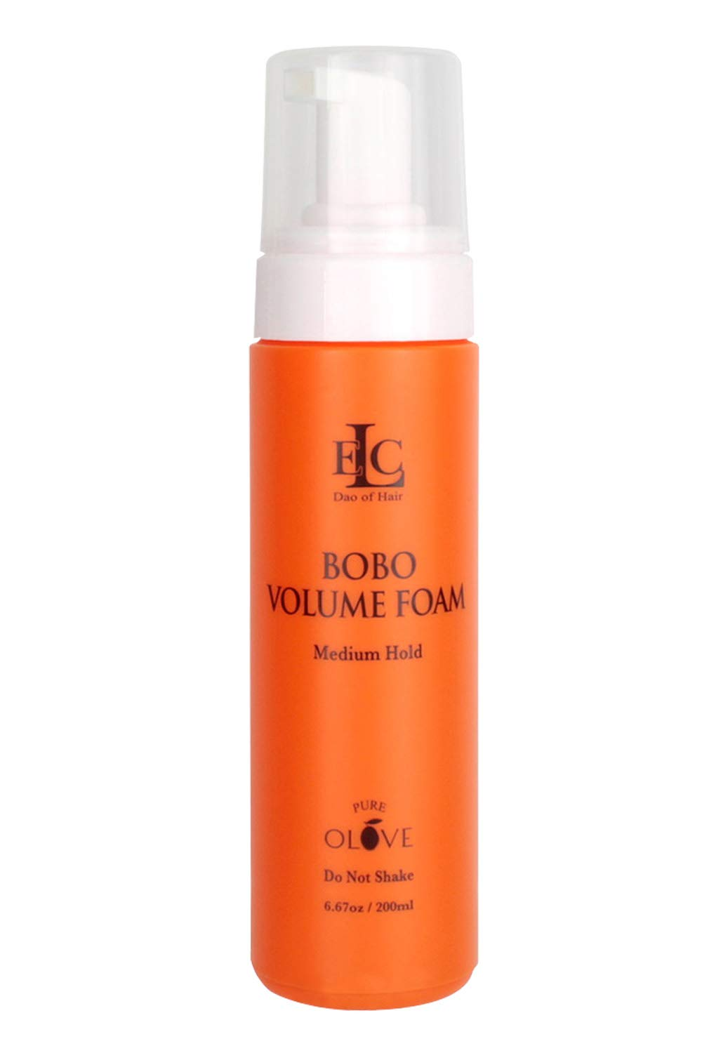 ELC Dao of Hair Pure Olove Bobo Volume Foam, Lightweight Medium Holds Styling Foam that Builds All Day Volume with Shine - 6.67 oz