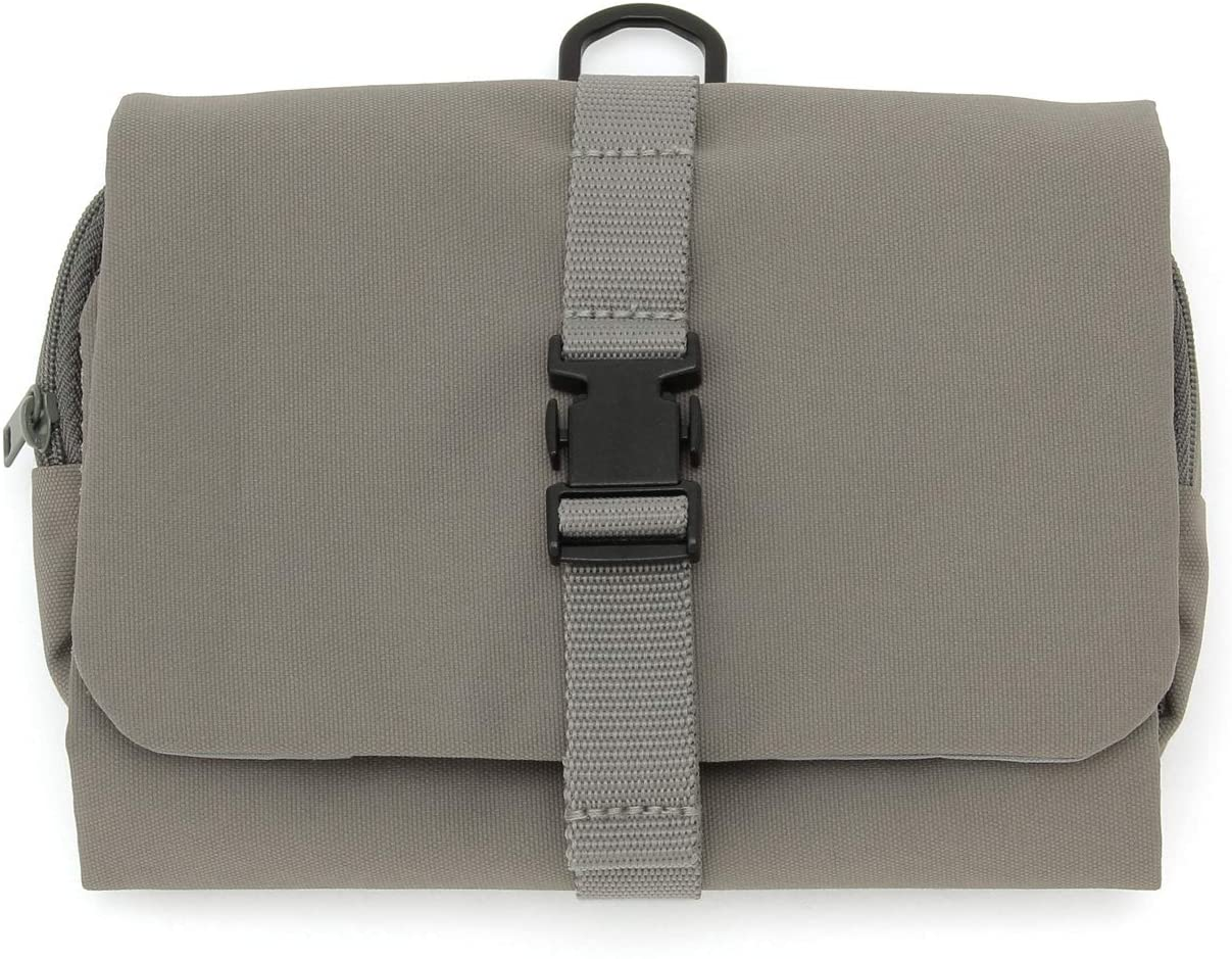 MUJI - Hanging Case with Detachable Pouch Gray