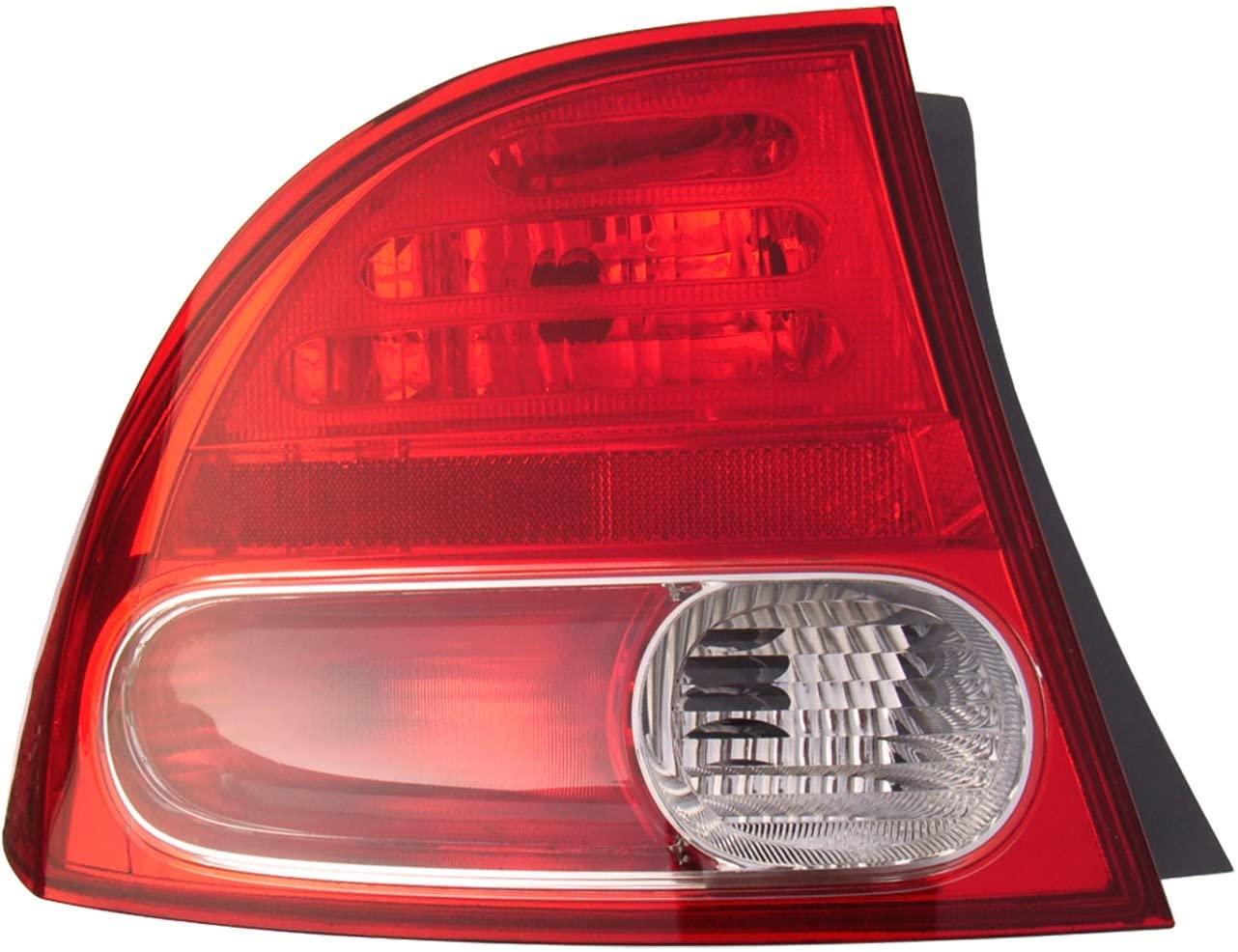 Dorman 1611302 Driver Side Tail Light Assembly for Select Honda Models