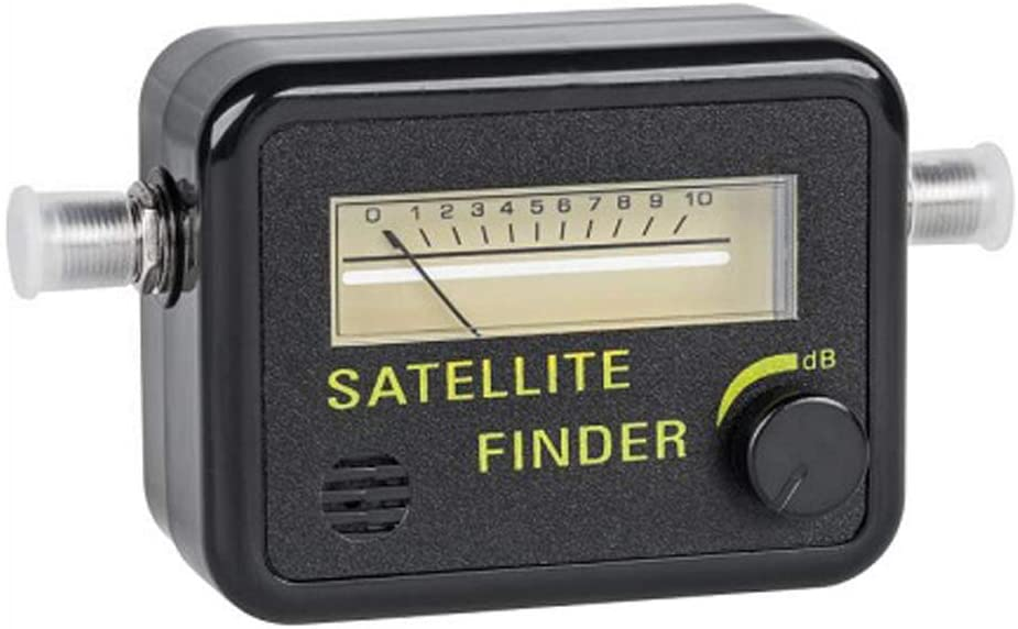 Tv Antenna Signal Strength Meter - Swr Meter - Satellite Finder - Satilite Signal Meter - Satellite Signal Finder Dish Network - Sat Finder - Analog Meter - C Band Lnb - Lnb Ku Band - STEREN