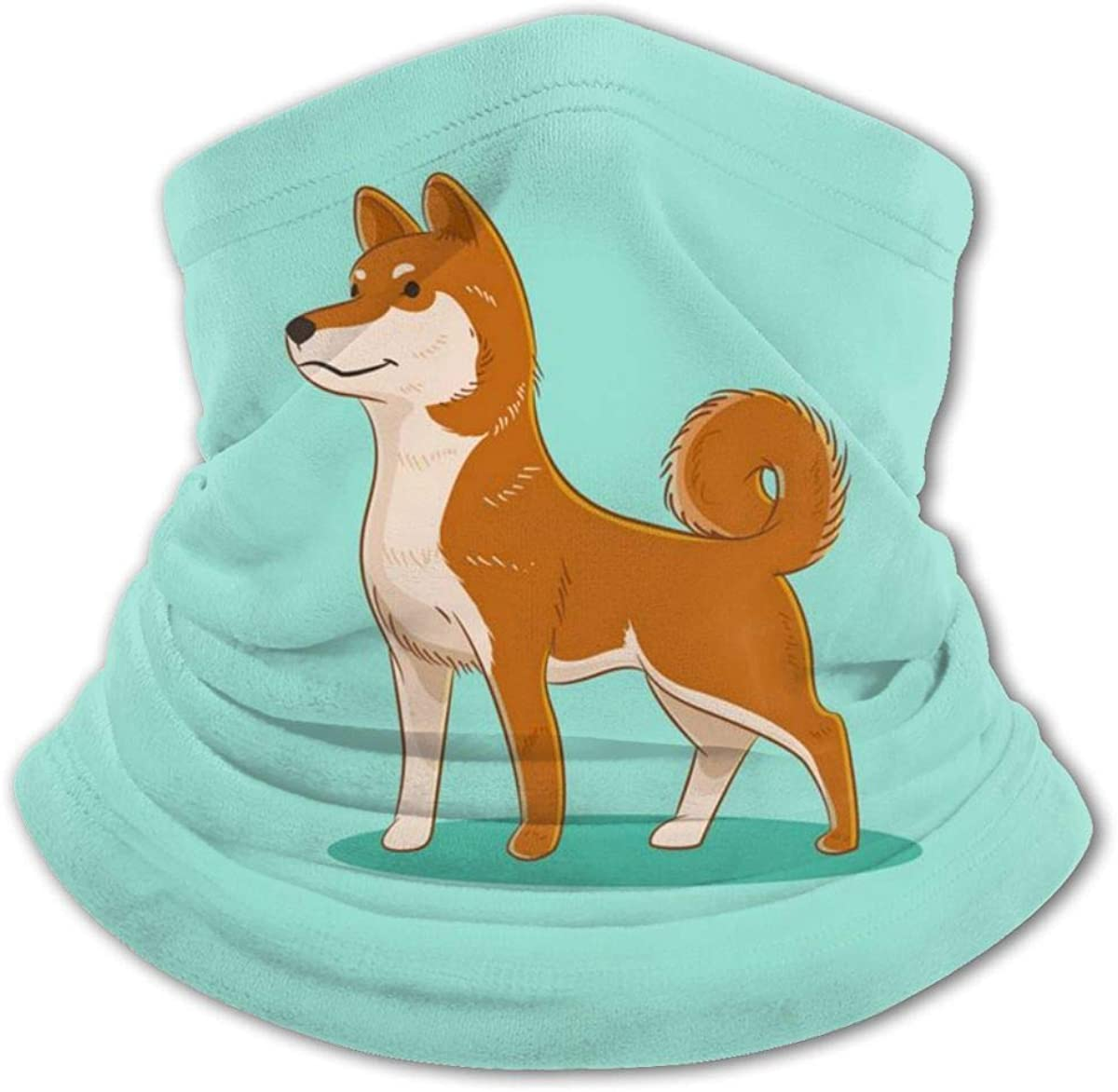 Shiba Inu Dog Headwear For Girls And Boys, Head Wrap, Neck Gaiter, Headband, Tenn Fishing Mask, Magic Scarf, Tube Mask, Face Bandana Mask For Camping Running Cycling
