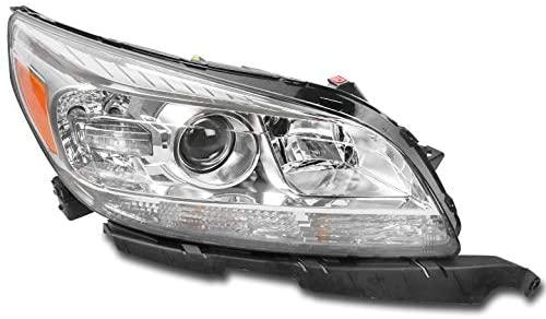 ZMAUTOPARTS Projector Headlight Headlamp Lamp Passenger Side For 2013-2015 Chevy Malibu / 2016 Malibu Limited