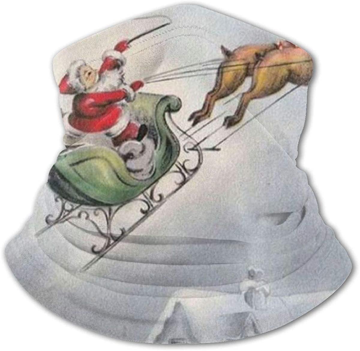 Christmas Deer Headwear For Girls And Boys, Head Wrap, Neck Gaiter, Headband, Tenn Fishing Mask, Magic Scarf, Tube Mask, Face Bandana Mask For Camping Running Cycling