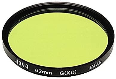 Hoya 62mm HMC Screw-in Filter - Yellow/Green