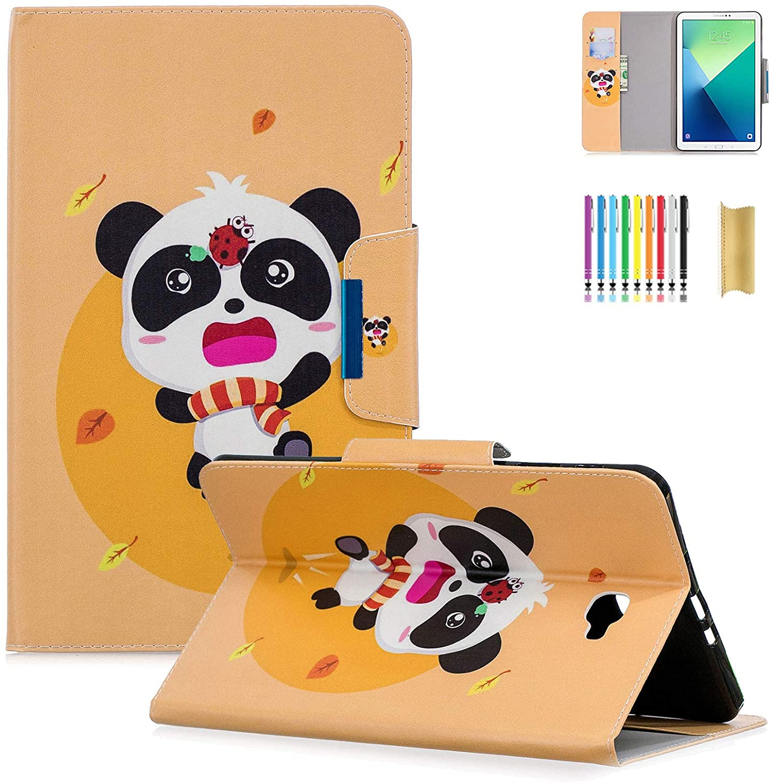 Dteck for Samsung Galaxy Tab A 10.1 SM-T580 Case 2016 - PU Leather Stand Folio Smart Wake/Sleep Case Samsung for Galaxy Tab A 10.1