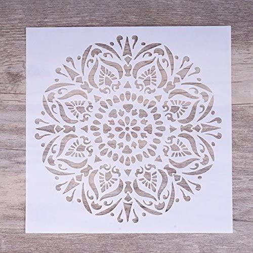 15 cm DIY Ofício Camadas Stencils Para Paredes Pintura Scrapbooking Carimbar Álbum de Selos Cartões de Gravação De Papel Decorativo