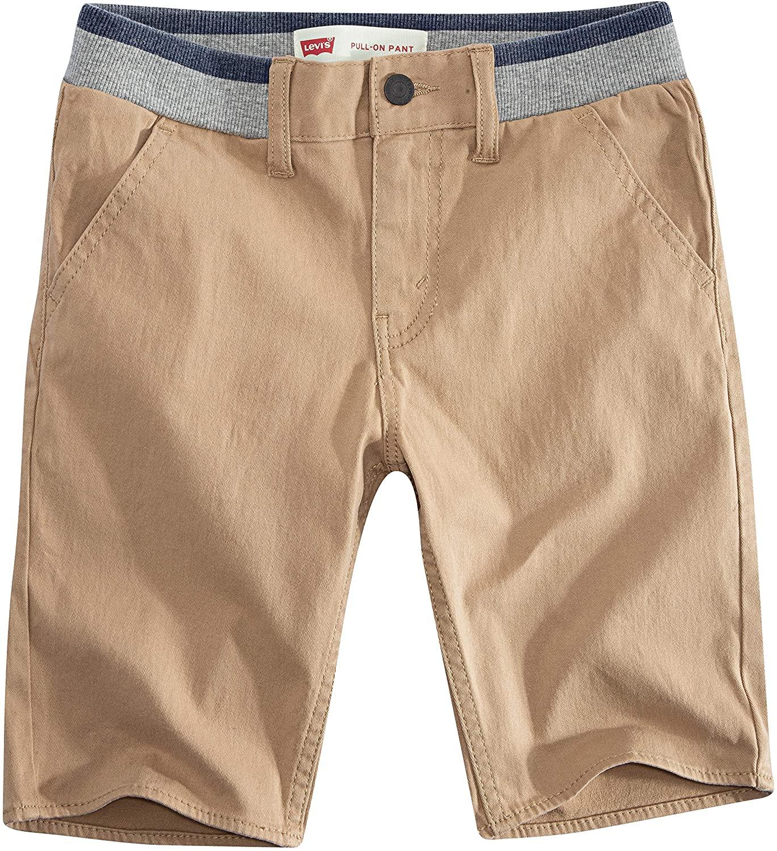 Levi's Boys' Big Slim Fit Chino Shorts, Harvest Gold, 14