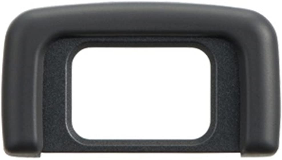 ADQQ Rubber Eyepiece DK-25 Eyecup Viewfinder for Nikon D3300, D3400, D5300, D5500 Digital SLR Camera