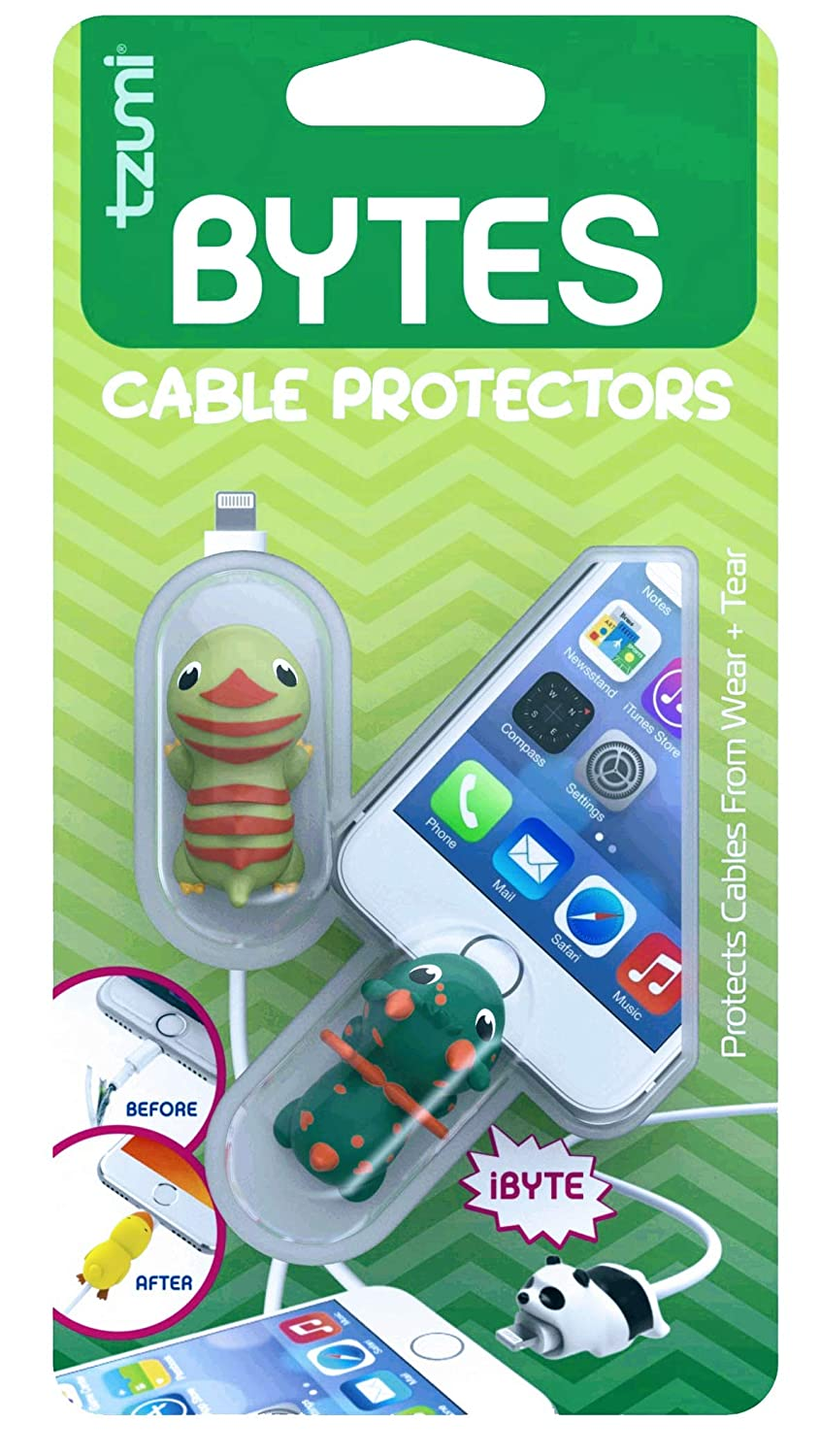 Bytes Cable Protectors Comes with Two Glow in The Dark Protectors