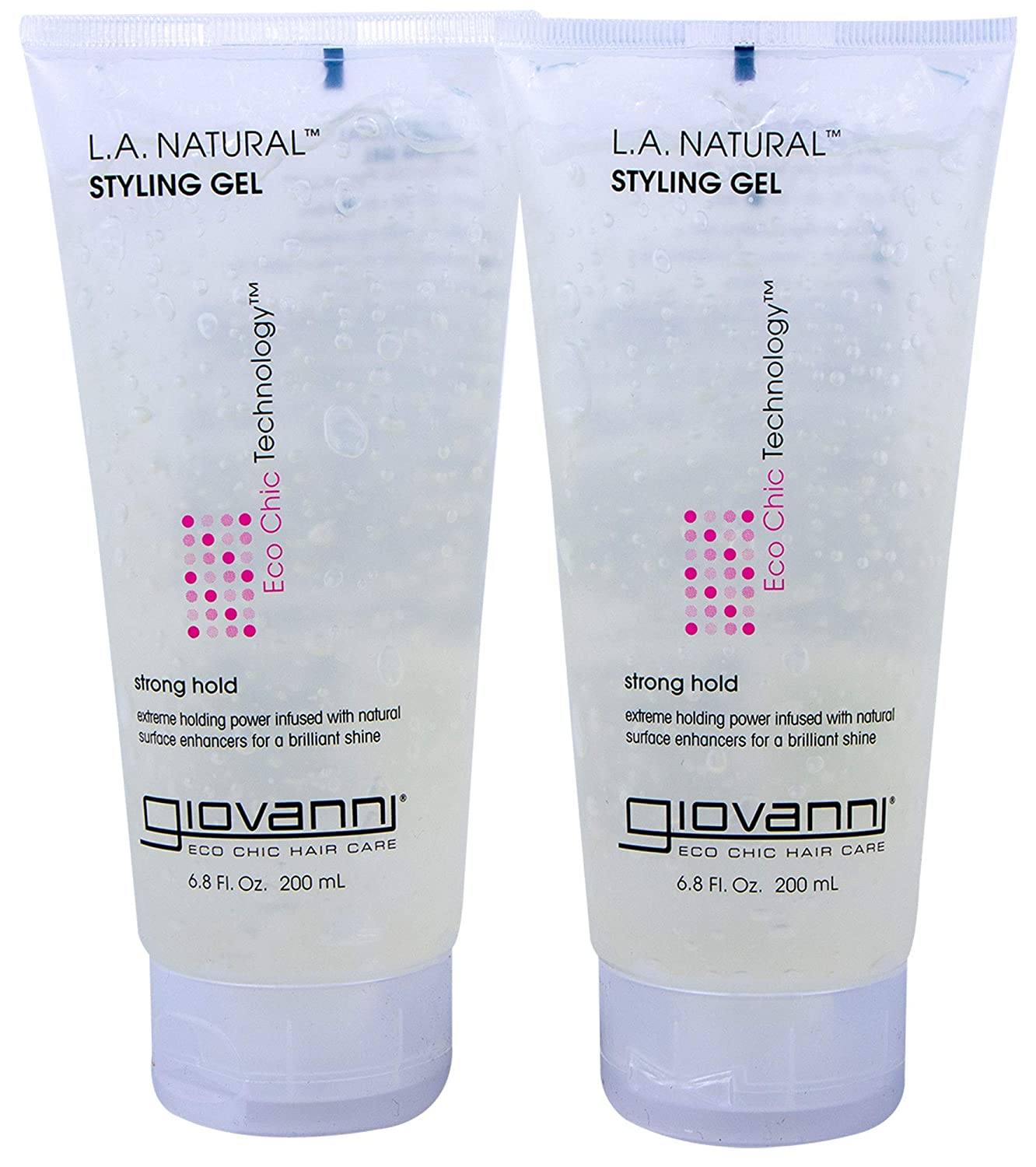 Eco Chic L.A. Natural Styling Gel (6.8 Oz, 2-Pack)