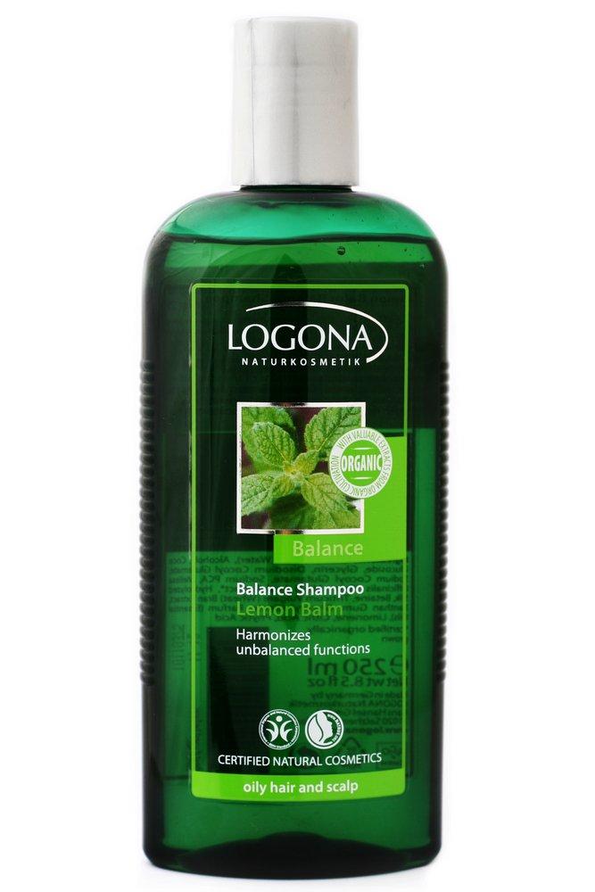 Logona Balance Shampoo for Oily Hair, Lemon Balm, 8.45 Ounce