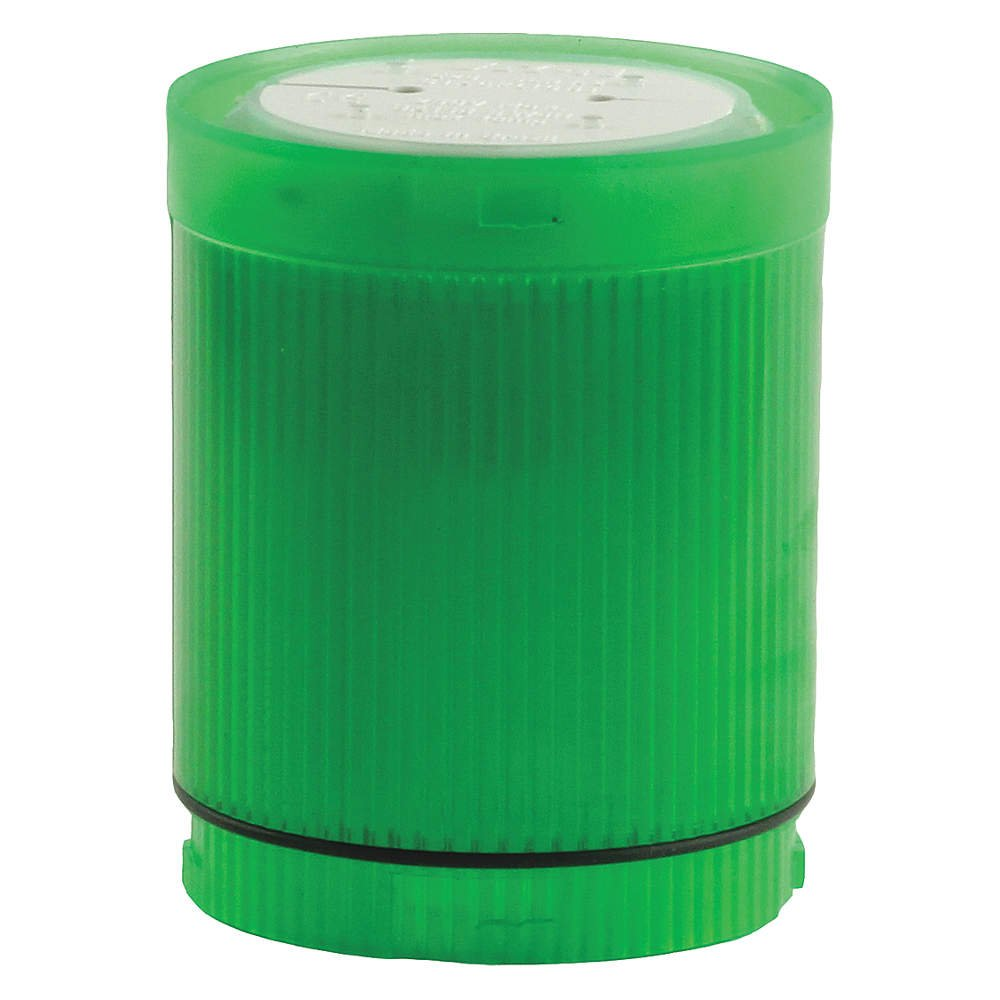 CUTLER HAMMER E26BG1V4 Lens and Diffuser Unit-Green Cylindrical LED 125VAC/DC