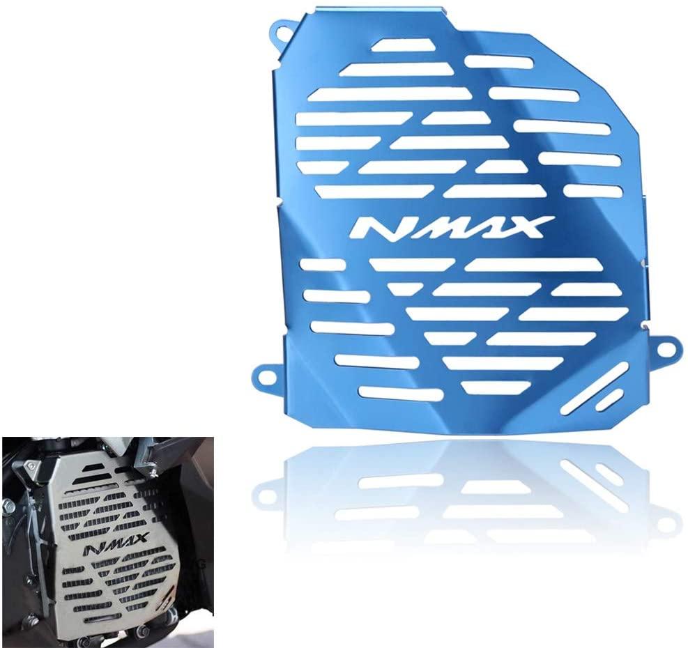 Kanoxbaiku For Yamaha NMAX155 2015-2018 Radiator Grille Guard Radiator Cover Protector (Blue)