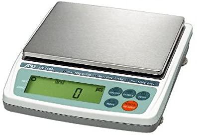 A&D Weighing Digital Balance, SS Platform, 6000g Cap. - EK-6100I